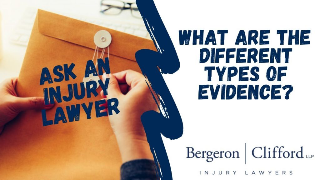 What are the different types of evidence cover