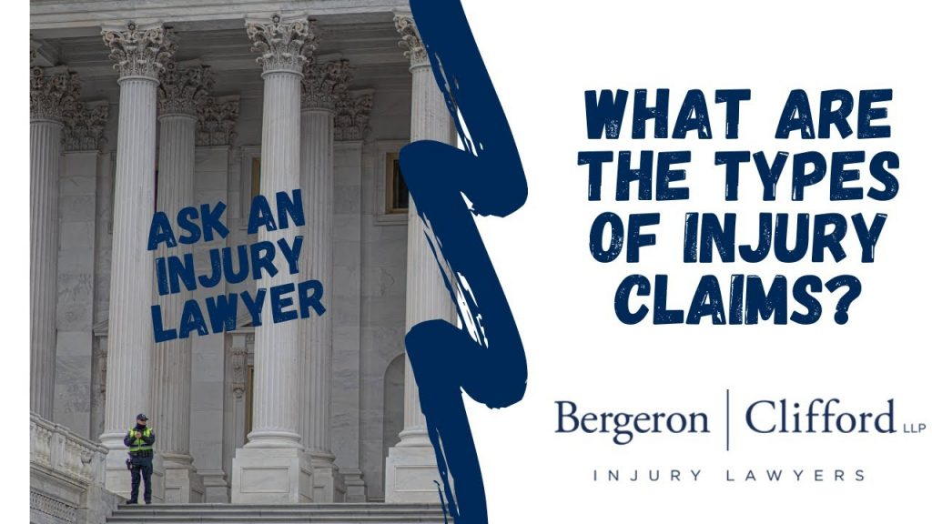 What are the types of injury claims