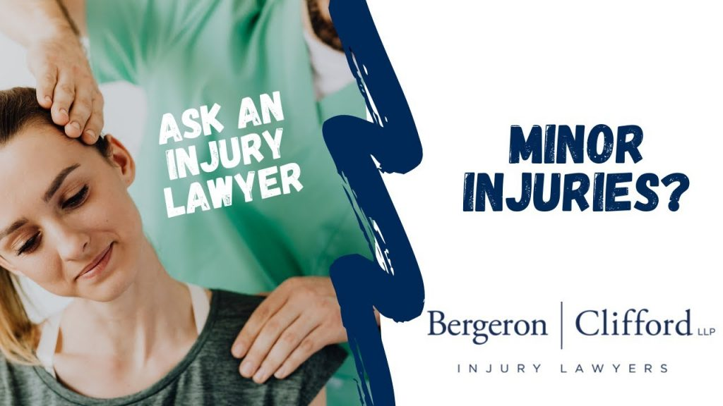 Minor injuries? Cover