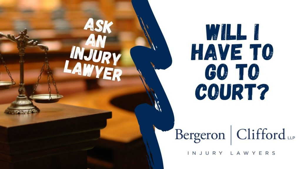 Will I have to go to court cover