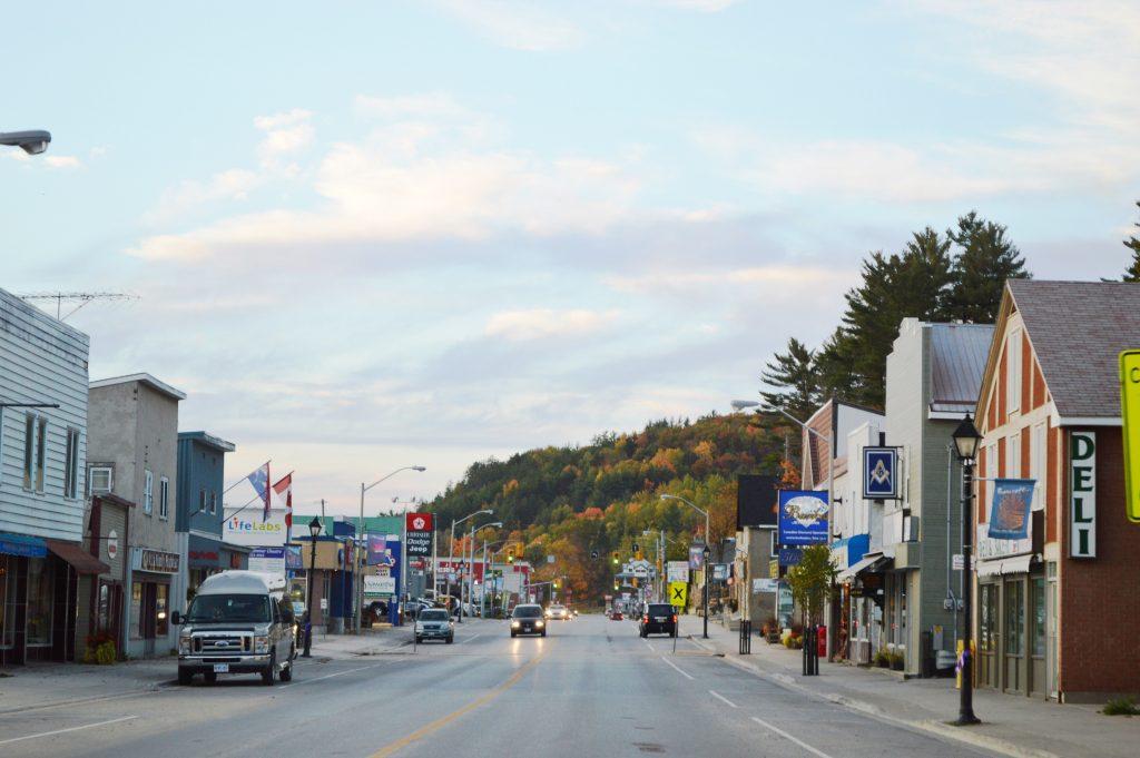 Bancroft downtown image