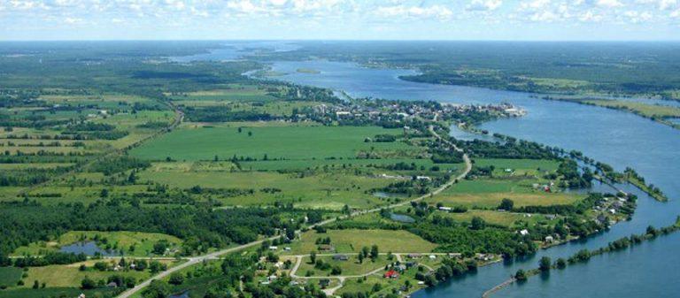 Cardinal, Ontario Top View