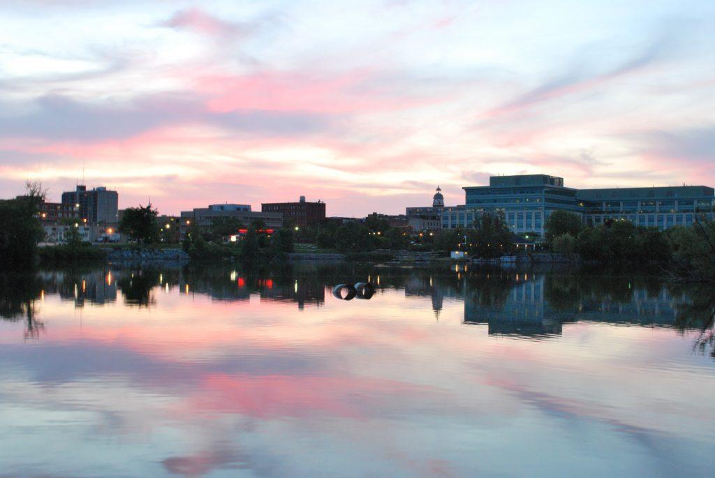 Peteborough_Skyline_Sunset