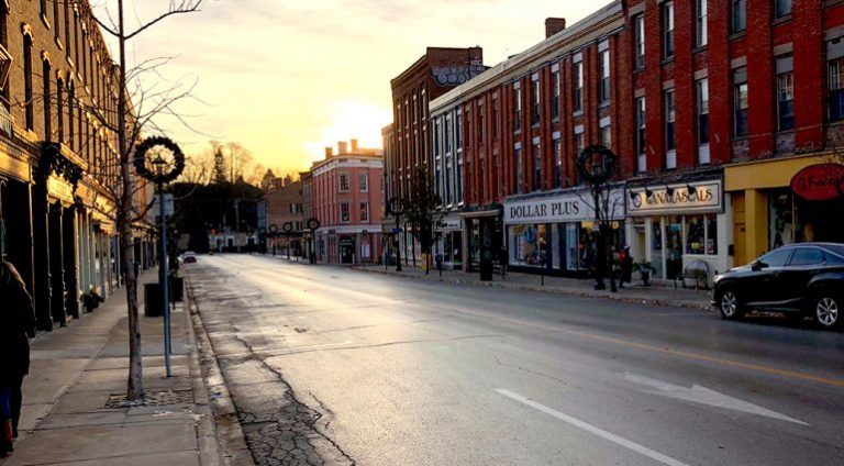 Street view of Port Hope