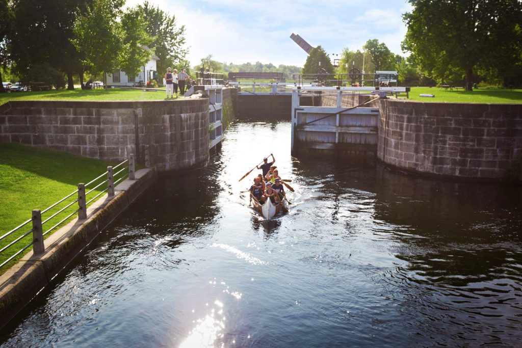 Image of Smiths Falls Canal