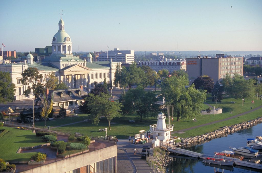 Kingston Ontario_City Hall and waterfront