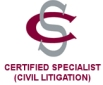 Badge_Certified specialist in civil litigation